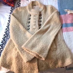 Free People sweater jacket size XS